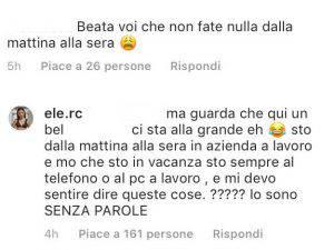 Eleonora Rocchini dura accusa