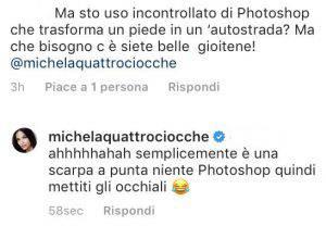 Michela Quattrociocche Photosho