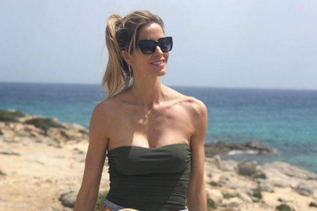 Elena Santarelli accusa