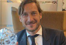 Francesco Totti addio