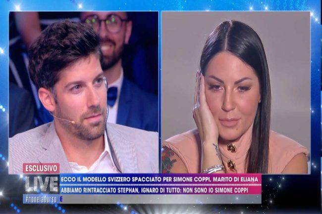 Simone Coppi denuncia Eliana Michelazzo