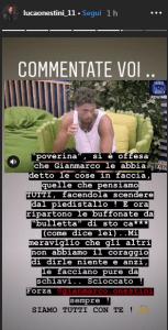 Luca Onestini contro Francesca