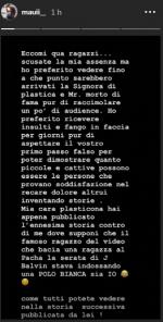 Manuel Galiano rompe il silenzio