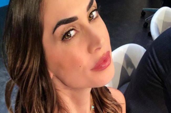 Melissa Satta irresistibile