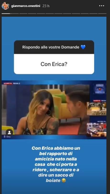 Gianmarco Onestini Erica Piamonte verità