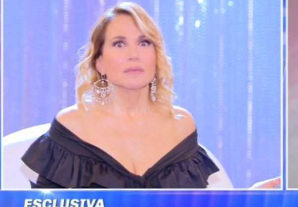 Barbara D'Urso furiosa contro un ospite
