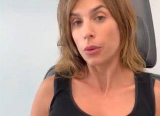 Elisabetta Canalis in clinica