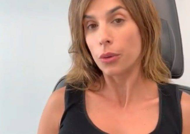 Elisabetta Canalis in clinica
