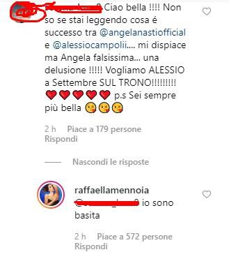 Raffaella Mennoia risposta