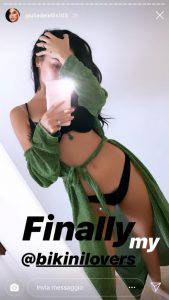 Giulia de Lellis in costume