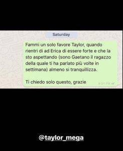 Gaetano Arena contro Taylor Mega