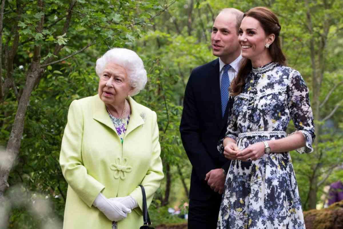 Kate Middleton Regina Elisabetta disturbo