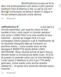 Ludovica Valli critiche rapporto Beatrice