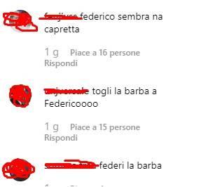 Federico Rossi criticato