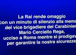Mario Cerciello Rega carabiniere