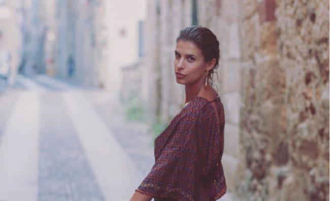 Elisabetta Canalis abito mini