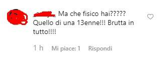 Chiara Nasti critiche