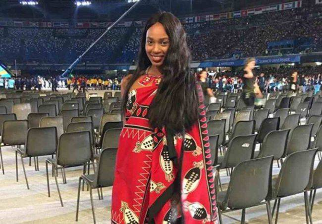 Erikah Seyama Instagram, Universiadi Napoli, ragazza africana