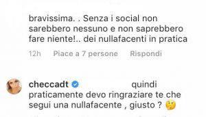 Francesca Del Taglia haters