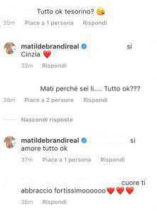 Matilde Brandi in ospedale