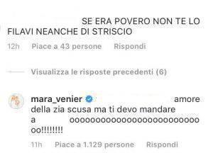 Mara Venier accusa