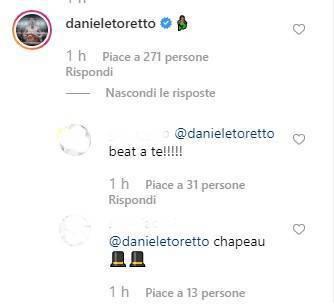 Diletta Leotta commento Daniele Scardina