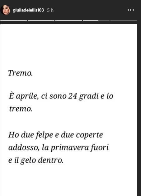 Giulia De lellis citazioni