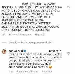 Sonia Bruganelli critiche