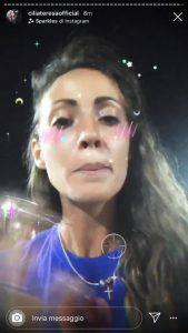 Karina Cascella attacca Teresa