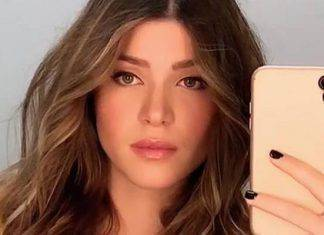 natalia paragoni senza reggiseno instagram