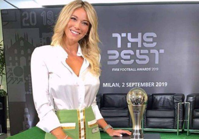 Diletta Leotta gonna
