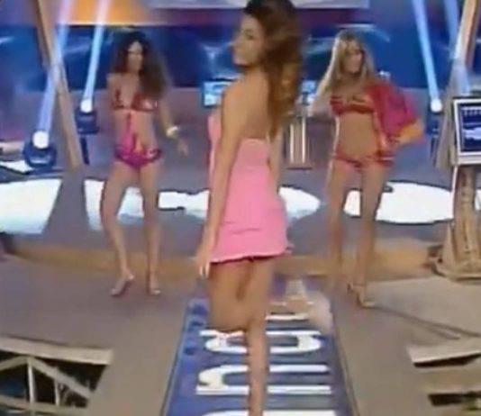 Belen Rodriguez com'era 10 anni fa