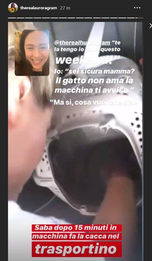 Aurora Ramazzotti disavventura Michelle