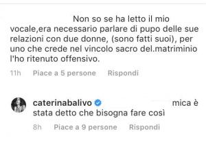 Vieni da Me attacco Caterina