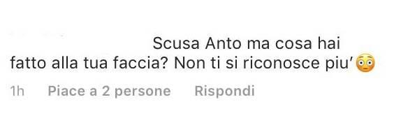Antonella Clerici accusa