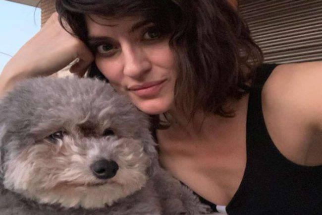 Elisa Isoardi con Zenit