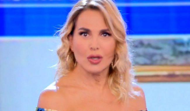 Barbara D'Urso imprevisto