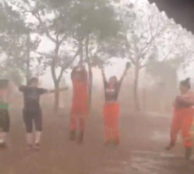 Amazzonia pioggia