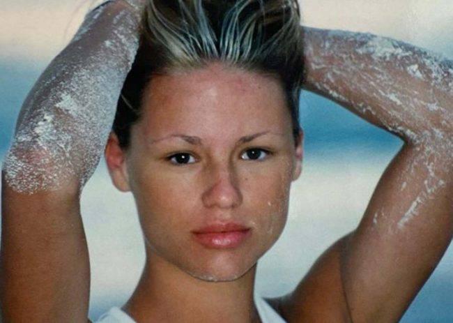Michelle Hunziker 18 anni difetto