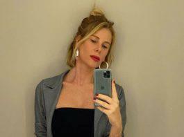 Alessia Marcuzzi dettaglio look