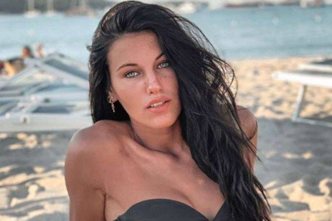 Carolina Stramare flirt Ramazzotti