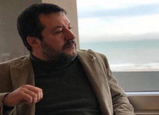 Matteo Salvini terzo figlio
