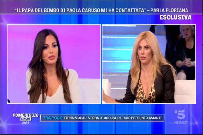 Pomeriggio Cinque Floriana Paola