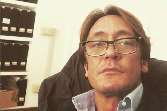 Andrea Ippoliti attaccato ex moglie