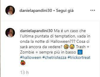 Ex moglie Andrea Ippoliti sfogo