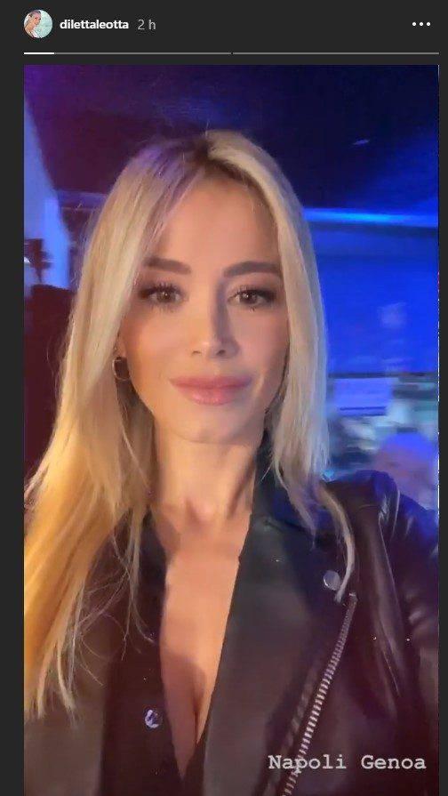 Diletta Leotta scollatura