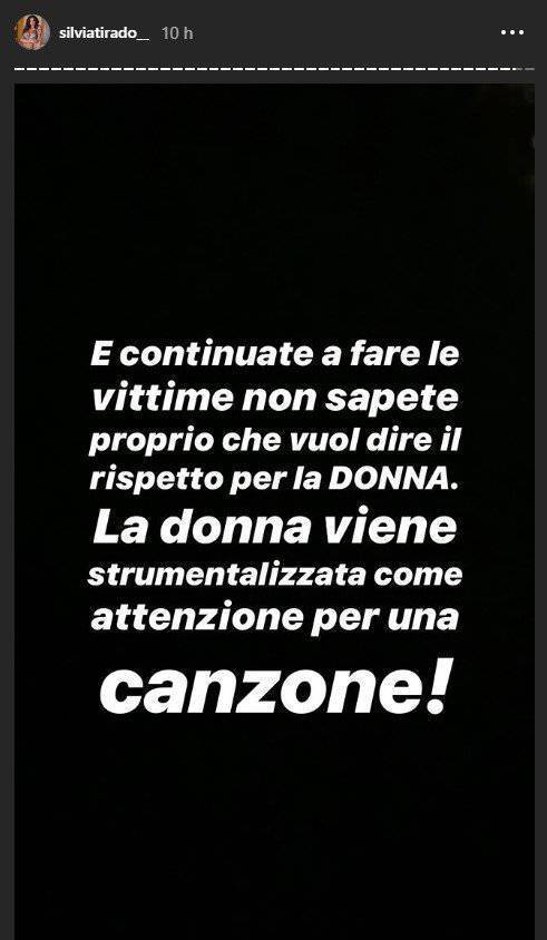 Silvia Tirado accuse Gabriele Pippo