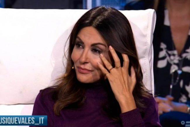 Sabrina Ferilli lacrime Tu Si Que Vales