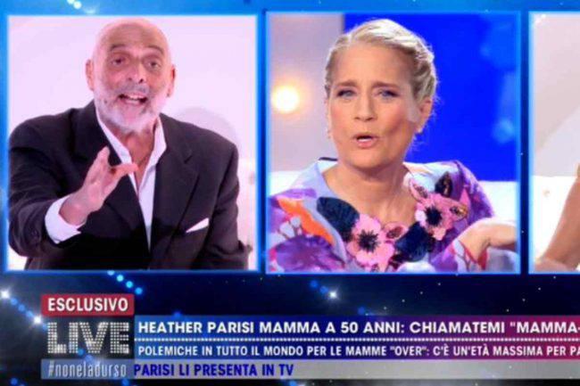 Paolo Brosio Heater Parisi scontro