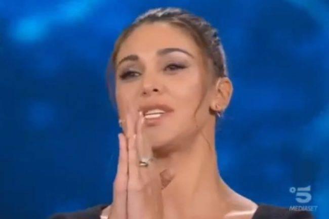 Belen Rodriguez lacrime Tu Si Que Vales